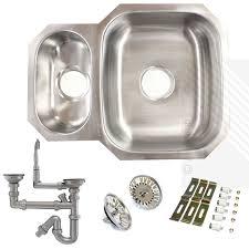 kitchen sink macerator premium undermount 1 5 bowl stainless steel kitchen sink reversible