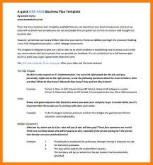 1 page business plan templates free 100 images 3 year business