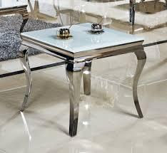 Wohnzimmertisch Barock Beistelltisch 60 X 60 X 50 Cm Ina Nachttisch Weiß Tisch Büro