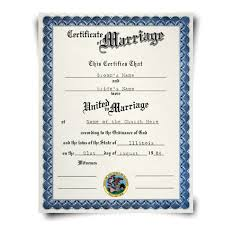 fake marriage certificate diplomacompany com
