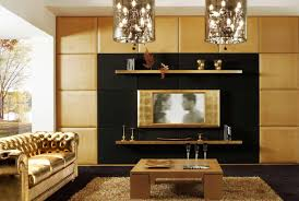 Gold Wall Paint by Living Room Beautiful Gold Metal Crystal Shades Chandelier With