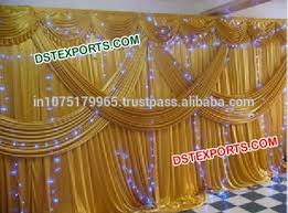 wedding backdrop gold indian wedding gold backdrop lehriya golden backdrop with lights