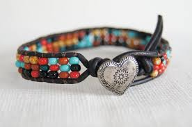 leather bracelet with beads images Top 10 handmade beaded jewelry ideas or costume jewelry the jpg