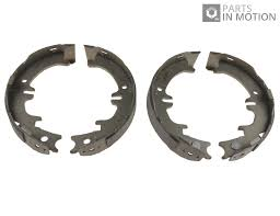 lexus genuine parts uk handbrake shoes set fits lexus is200 mk1 2 0 99 to 05 437622rmp 1g