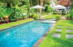 Backyards With Pools Swimming Pool U201cdecks U201d Using Grass Lawns U2014in Photos
