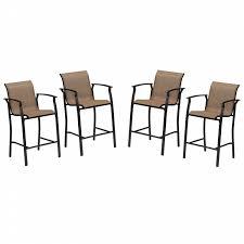 Joe Boxer Chair Essential Garden Fulton 4 Piece Bar Chair Set Limited