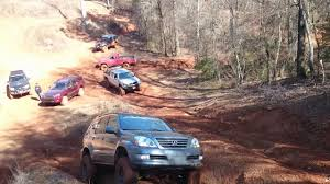 lifted lexus gx460 lifted lexus gx470 off camber hill climb youtube