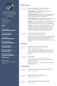 Social Media Community Manager Resume Information System Manager Resume Computer Information Systems