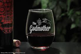 godmother wine glass on glass the fairy godmother stemless wine