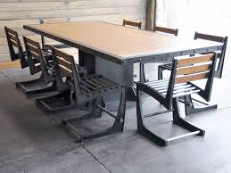 industrial dining tables ideal industrial kitchen table creative