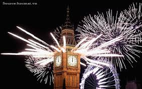 new year celebration in uk