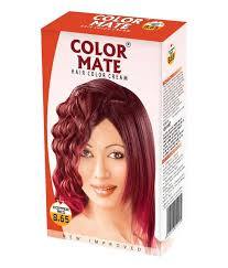Color Mate Hair Color Copper Red 65 ml Pack of 2 Buy Color Mate