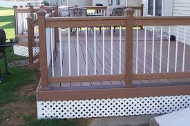 deck railing white spindles lots of deck railing ideas http