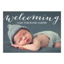 birth announcement cards invitations greeting photo cards
