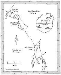 Adirondack Mountains Map Paddling Tips And Trips Paddling Pristine Waters