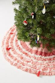 layered loops tree skirt anthropologie