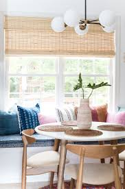 cozy and comfortable diy breakfast nook