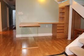 how to build a floating desk floating desk under staircase solution design trifecta henry