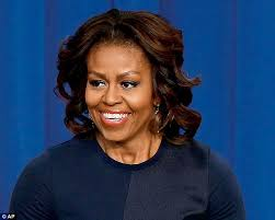 ms obamas hair new cut michelle obama debuts new blonde hair highlights at miami event