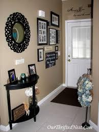 attractive design home entrance decor winter interior decoration