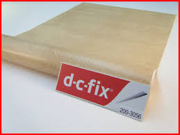 Self Adhesive Leather Dc Fix Beige Leather Effect 1m X 45cm Sticky Back Self Adhesive
