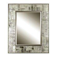 Beveled Mirror Bathroom by Stained Glass Wisteria Mosaic With Beveled Mirror Wisteria