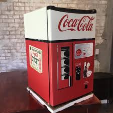 Coca Cola Six Flags Promotion Coca Cola Vending Machine Mini Fridge Skin U2014 Rm Wraps