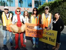 scan employees and community volunteers deliver 2 200 thanksgiving