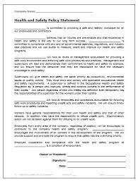 safety statement template confidential investigation report form