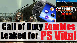 best ps1 games on vita call of duty zombies leaked for the ps vita vitaboys ps vita