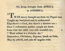 How To Ask Maid Of Honor Poem Phillis Wheatley Wikipedia