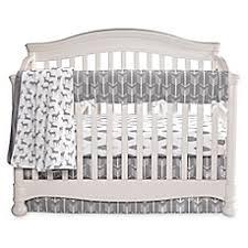 Grey And White Crib Bedding Liz And Roo Woodland Crib Bedding Collection Buybuy Baby