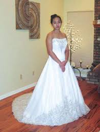 oleg cassini wedding dress oleg cassini wedding dress style cv008 with petticoat size 8
