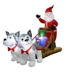 8 u0027 santa huskies inflatable at menards i want that