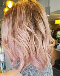 older women with platinum blonde pink hair my hair is a balayage blush done at natural alternatives