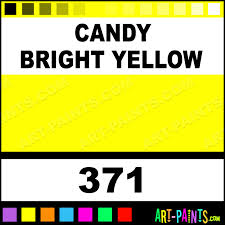 candy bright yellow lacquer airbrush spray paints 371 candy