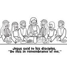 easter coloring pages religious coloring page of jesus last supper you can print out this