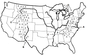 united states map with rivers and mountain ranges us map mountain ranges and rivers of the united states with
