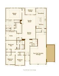 Four Car Garage by New Home Plan 202 In San Antonio Tx 78254