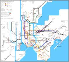 Kansas City Metro Map by New York Subway Map Travel Map Vacations Travelsfinders Com
