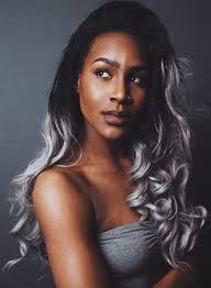 african american silver hair styles 40 glamorous ash blonde and silver ombre hairstyles gray ombre