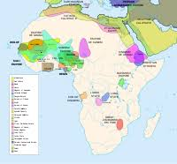 africa map before colonization history of africa