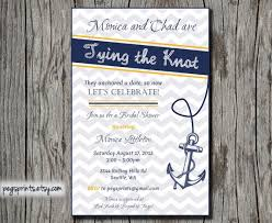 nautical themed wedding invitations nautical themed bridal shower invitations dhavalthakur