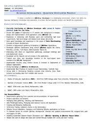 Teradata Resume Sample by Business Intelligence Developer Resume Template Virtren Com