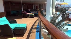 carnival sunshine serenity pool u0026 deck youtube