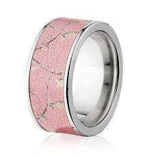 camouflage wedding bands pink realtree wedding band for camo after
