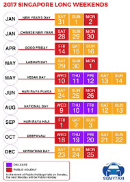 Kalender 2018 Hari Raya Puasa School Holidays Singapore 2017 2018 19 Weekends