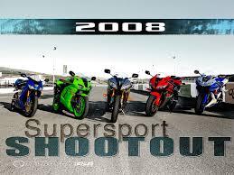 honda sports bikes 600cc 2008 supersport shootout vi motorcycle usa