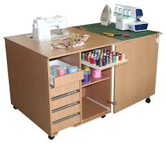 comfort 1q sewing machine and overlocker table