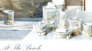 Seashell Bathroom Ideas Lighthouse Bathroom Decor Bemine Co
